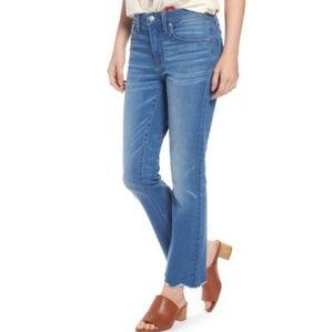 NWT Madewell Cali Demi Boot Boot Jeans (Fenton)